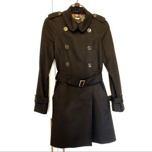 Ted Baker black trench coat